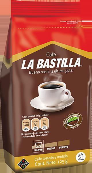 bolsa café la bastilla suave 125