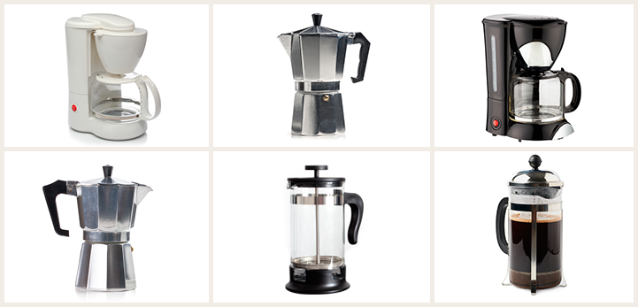 Tipos de cafetera Café La Bastilla